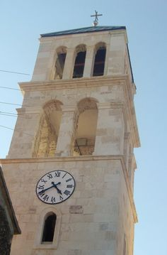 Church tower in Vodice