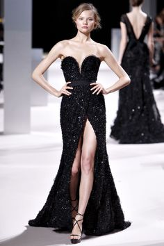 Elie Saab, Haute Couture, Fall | No dress could succeed at making a woman feel sexy and elegant as well as this one.