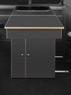 Küchenbox mit abnehmbarem Tisch