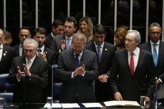 Logo após assumir o cargo de presidente do Brasil, Michel Temer declarou em sua…