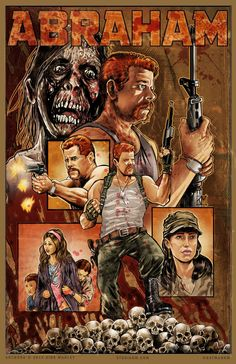 The television and comicbook The Walking Dead worlds collide in new blood, guts and gun filled fan art. Walking Dead Comics, Walking Dead Fan Art, Walking Dead Memes, Fear The Walking Dead, Gi Joe, Comic Book Covers, Comic Books, Abraham Ford, Dead Zombie
