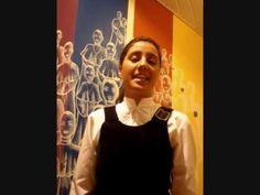 Melodia Sentimental - Villa Lobos- Meninas Cantoras de Petrópolis - Solo: Mariana Gomes - YouTube