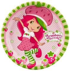 Strawberry Shortcake Party Lunch Dinner Plates 8 Per Package Birthday Supplies Strawberry Shortcake Party Supplies, Strawberry Shortcake Pictures, Strawberry Shortcake Birthday, 1st Birthday Girls, 1st Birthday Parties, Birthday Ideas, Free Birthday, Birthday Supplies, Free Printable Birthday Invitations