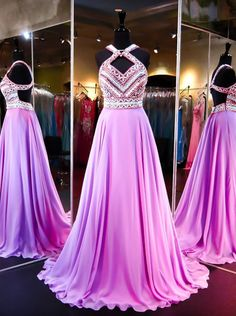 Fashion Prom Dresses Backless Evening Party Gown pst0956