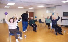 Exercise with the elderly www.thomaswiderski.com Your Health is Your Future!