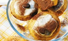 Muffin al Baileys® Irish Cream, Donuts, Pancakes, French Toast, Pudding, Sweets, Baking, Breakfast, White Chocolate