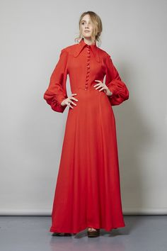 http://www.nordicpoetry.co.uk/vintage-red-1970-s-ossie-clark-moss-crepe-dress