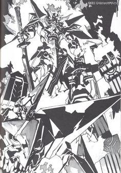 DHL The Art of Yoh Yoshinari Illustrations Book Evangelion Gurren Lagann Grandia