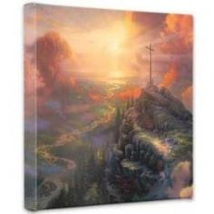 Favored1. The Cross Painting by Thomas Kinkade for Billy Graham. When we think of the cross many things come to mind, but for the most part we think about the cross on which Jesus Christ died. It was with that...