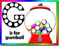G is for Gumballs {COAH}