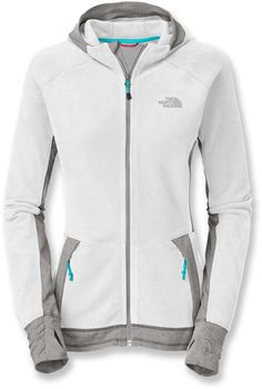 The North Face Laura Hybrid Hoodie - Womens - thumb gaiters are ALWAYS loveable