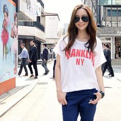 Buy 'REDOPIN – Lettering Print T-Shirt' with Free International Shipping at YesStyle.com. Browse and shop for thousands of Asian fashion items from South Korea and more!