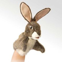 Folkmanis Little Hare Little Puppet - 2931