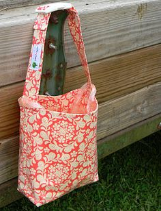 Might have to make one....this is way cuter than the current car trash bag I have.