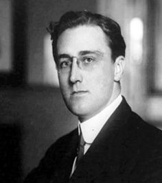 FRANKLIN DELANO ROOSEVELT, age 31, Assistant Secretary of the Navy, 1913.