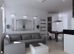 apartament Wąwozowa - zdjęcie od Studio Aranżacji Wnętrz Ave Art Agnieszka…