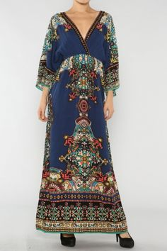 Vintage Kimono Dress  #salediem #vintage #fashion #boutique