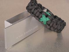 Tourette Syndrome  Green Awareness Bracelet by AThomasBracelets on Etsy, $9.95