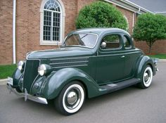 1936 Ford 5-Window Coupe..Re-pin brought to you by agents of #Carinsurance at #HouseofInsurance in Eugene, Oregon