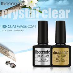 IBCCCNDC 10ml Gel UV Nail Top Base Coat 80 Color Gel Polish Lacquer Semi Permanent Gel Varnish Nail Primer Top Coat Base Coat  Price: 1.15 USD