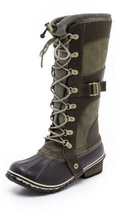 Pin for Later: The 18 Absolute Best Boots, Because Winter Is Coming Sorel Conquest Carly Boots Sorel Conquest Carly Boots (£141)