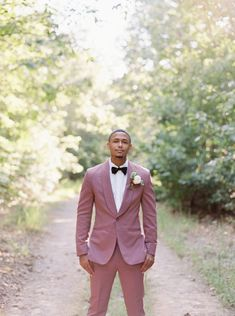 Mauve grooms suit idea! Groom And Groomsmen, Happily Ever After, Dapper, Mauve, Wedding Styles, Suit Jacket, Vogue, Party Ideas, Gowns
