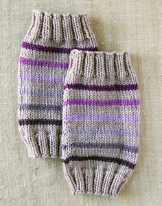 Make : The Purl Bee's Baby Legwarmers  Might make a good boot topper too.