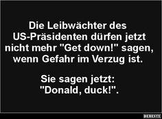 Die Leibwächter des US-Präsidenten dürfen jetzt.. | Lustige Bilder, Sprüche, Witze, echt lustig