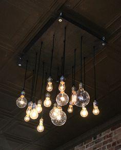 Bombillas colgantes  #Iluminación  #Lighting