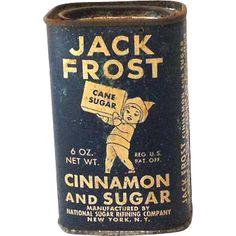 Jack Frost Cinnamon and Sugar tin