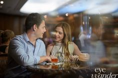 New Orleans Engagement Photography, The Rosevelt Hotel New Orleans, Cocktails