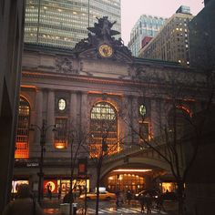 grand central station - as we are right near here, I should be able to get the different lighting at different times of the day