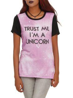 Honest like a unicorn.