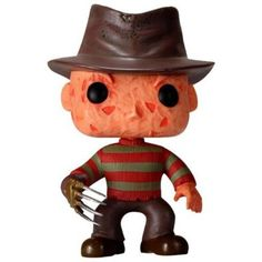 Scary looking adorable! Freddy Krueger as never seen before! Freddy Krueger in stylized urban vinyl form! This Freddy Krueger Movie Pop! The stylized vinyl figure has a rotating head and comes in a displayable window box. Figurines D'action, Pop Figurine, Figurines Funko Pop, Funko Pop Figures, Freddy Krueger, Frankenstein, Pop Vinyl Figures, Gremlins, Universal Monsters