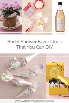 give the ladies who attended your bridal party take home treats made with tender