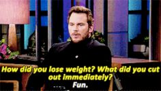 He really, really hates it. | 28 Reasons Chris Pratt Is The Adorable Goofball Of Your Dreams