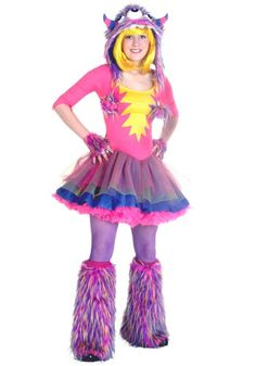 Teen Party Monster Halloween Costume