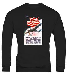 "# Keep 'Em Flying - WW2 Army Air Corps Recruiting T-shirt .  Special Offer, not available in shops      Comes in a variety of styles and colours      Buy yours now before it is too late!      Secured payment via Visa / Mastercard / Amex / PayPal      How to place an order            Choose the model from the drop-down menu      Click on ""Buy it now""      Choose the size and the quantity      Add your delivery address and bank details      And that's it!      Tags: Army Aircraft flying…"