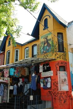 Kensington Market in Toronto, Ontario - Kid-friendly Attractions Kensington Market - Toronto, ON -<br> Canada Destinations, Family Vacation Destinations, Canada Eh, Toronto Canada, Ontario, Toronto Neighbourhoods, Visit Toronto, Toronto Photography, Canadian Travel