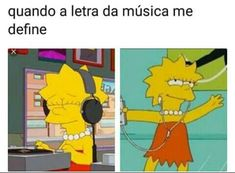 Lisa and Maggie Simpson. Best Memes, Funny Memes, Memes Humor, Otaku Meme, Memes Status, Imagine Dragons, The Simpsons, Funny Posts, The Neighbourhood