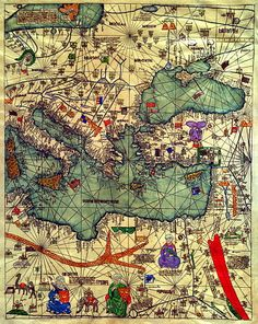 The Catalan Atlas, 1375. Eastern Europe