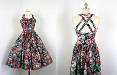 Love this 50s style dress