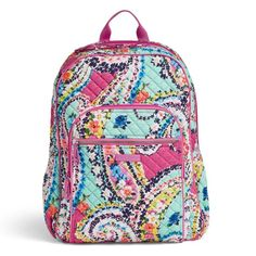 Shop a great selection of Vera Bradley Iconic Campus Backpack, Signature Cotton. Find new offer and Similar products for Vera Bradley Iconic Campus Backpack, Signature Cotton. Cute Backpacks, Girl Backpacks, School Backpacks, Vera Bradley Handbags, Vera Bradley Backpack, Backpack Bags, Fashion Backpack, Mesh Backpack, Office