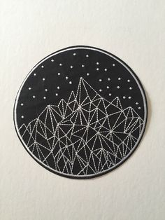 Mountain Constellations Giant Patch by ThePlainJane on Etsy