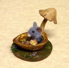 Mini Menagerie: Splish Splash, a Walnut Shell Bath