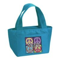 4 Peace Insulated Lunch Bag