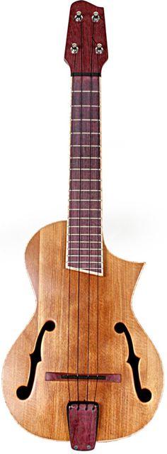 lardyfatboy: =Lardys Ukulele of the day - a year ago Custom Fhole Arch Top Acoustic Guitar by RoperGuitars on Etsy - Im a sucker for ƒ holes ==Lardys Ukulele of the day - 2 years ago --- https://www.pinterest.com/lardyfatboy/