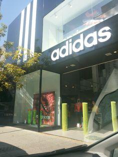 Adidas Oscar Freire, SP  #SaoPaulo #OscarFreire #Adidas #Sportswear #VisualMerchandising #Facade