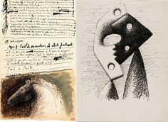 A celebration of the secrets and delights to be found in the diaries and notebooks of the famous: Pages from Picasso's notebooks