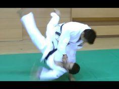 Judo - Okuri Ashi Barai - 送足払 - YouTube